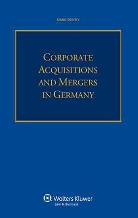 Corporate Acquisitions and Mergers in Germany