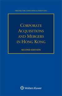 Corporate Acquisitions and Mergers in Hong Kong, 2nd edition