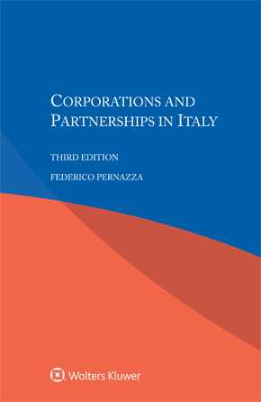 Corporations and Partnerships in Italy, Third edition by PERNAZZA