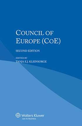 Council of Europe - Second Edition