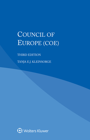 Council of Europe (CoE), Third edition by KLEINSORGE