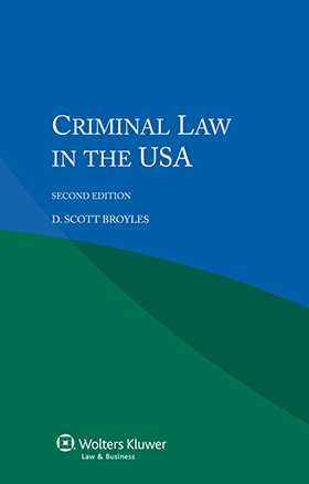 Criminal Law in the USA, Second Edition