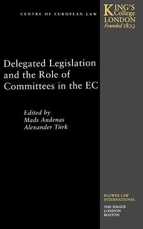 Delegated Legislation and the Role Of Committees In the European Community