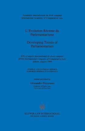 Developing Trends Of Parliamentarism