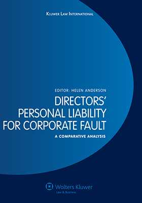 Directors' Personal Liability for Corporate Fault