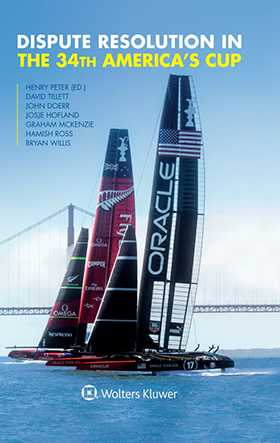 Dispute Resolution in the 34th America's Cup by