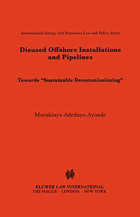 Disused Offshore Installations and Pipelines