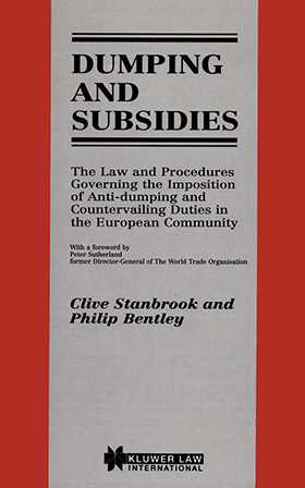 Dumping and Subsidies