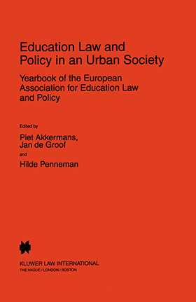 Education Law and Policy in an Urban Society: Yearbook of the European Assoc. for Education Law & Policy - Volume II (1997)