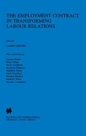 The Employment Contract In Transforming Labour Relations