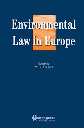Environmental Law in Europe