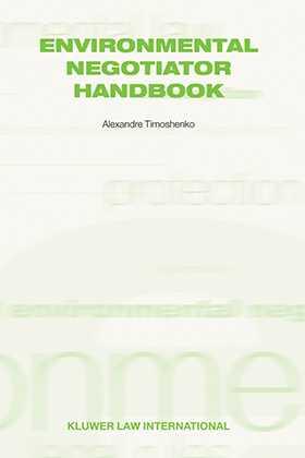Environmental Negotiator Handbook