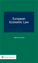 European Economic Law, Fourth Edition by SANTA MARIA