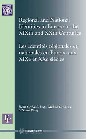 European Forum: Regional and National Identities in Europe in the XIXth and XXth Centuries
