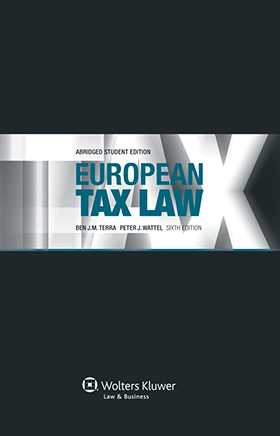 European Tax Law, Sixth Edition Student Version
