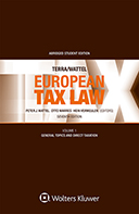 European Tax Law Seventh Edition; Volume I (Student edition) by TERRA