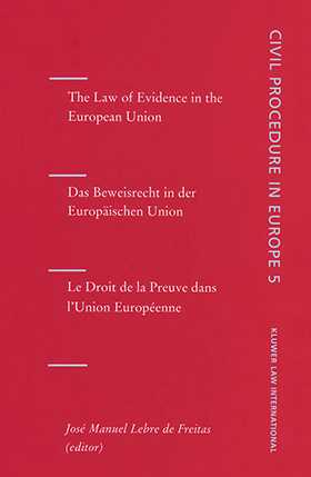 The Law of Evidence in the European Union by