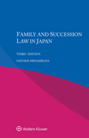 Family and Sucession Law in Japan, Third edition by MINAMIKATA