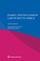 Family and Succession Law in South Africa, Third edition by HEATON