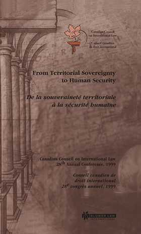 From Territorial Sovereignty to Human Security