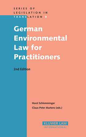 German Environmental Law for Practitioners by