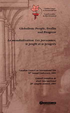 Globalism: People, Profits and Progress, La mondialisation: Les personnes, le profit et le progrès