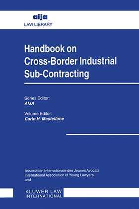Handbook on Cross-Border Industrial Sub-Contracting