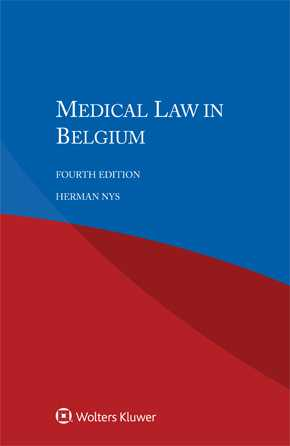 Medical Law in Belgium, Fourth edition by NYS