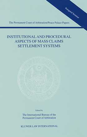 Institutional and Procedural Aspects of Mass Claims Settlement Systems