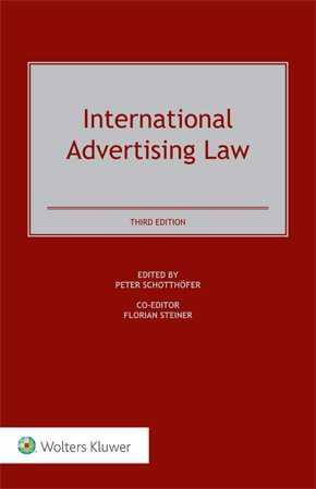 International Advertising Law, Third Edition by SCHOTTHOEFER