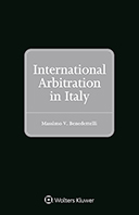 International Arbitration in Italy by BENEDETTELLI