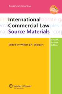 International Commercial Law, Source Materials, Second Edition