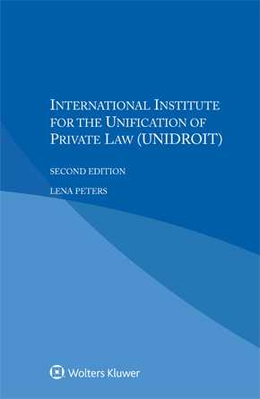 International Institute for the Unification of Private Law (UNIDROIT) by PETERS