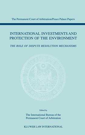 International Investments and Protection of the Environment