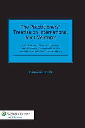 The Practitioners' Treatise on International Joint Ventures