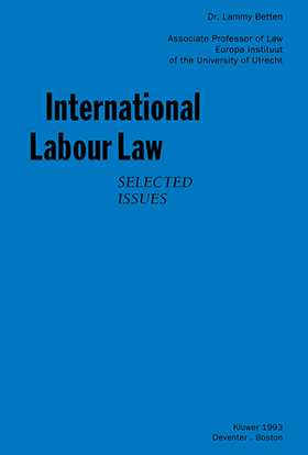 International Labour Law, Selected Issues