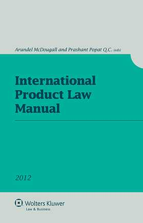 International Product Law Manual 2012