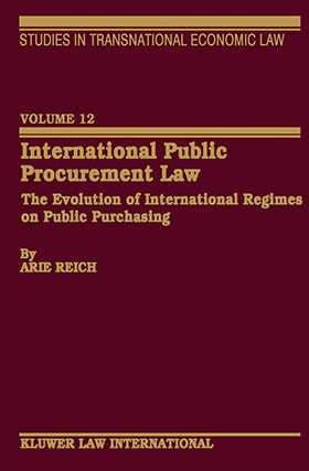 International Public Procurement Law