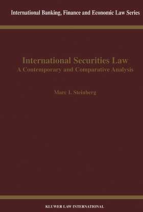 International Securities Law, Contemporary & Comparative Analysis