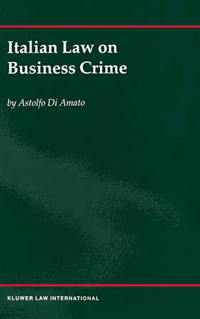 Italian Law On Business Crime