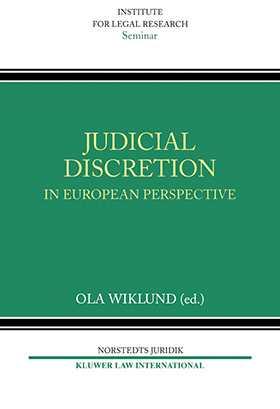 Judicial Discretion in European Perspective