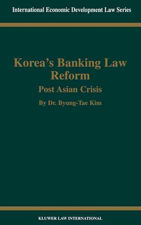 Korea's Banking Law Reform