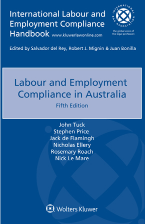Labour and Employment Compliance in Australia, Fifth edition by MARE