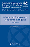 Labour and Employment Compliance in England, Sixth edition by PARISH