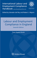 Labour and Employment Compliance in England, Seventh edition by PARISH