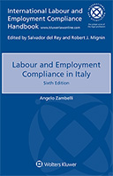 Labour and Employment Compliance in Italy, Sixth edition by ZAMBELLI