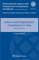 Labour and Employment Compliance in Italy, Seventh edition by ZAMBELLI