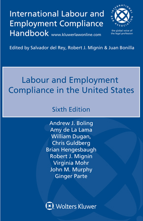Labour and Employment Compliance in the United States, Sixth edition by PARTEE
