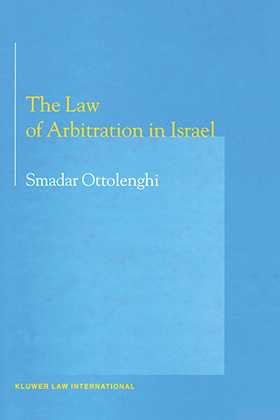 The Law of Arbitration in Israel