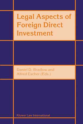 Legal Aspects Of Foreign Direct Investment